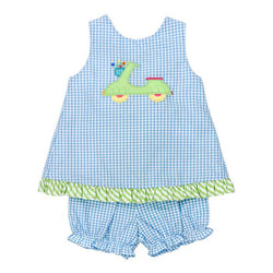 Scooter Kids Collection-Angel Dress Tie w/bloomer