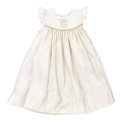 Antique Stripe Collection-Float Dress Dress Bailey Boys - Oma's Classic Children's Clothing