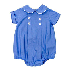Cascade Blue Collection-Dressy Bub Short Bubble Bailey Boys - Oma's Classic Children's Clothing