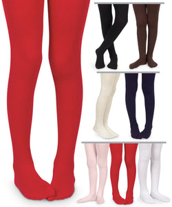 Smooth Microfiber Tights Tights Jefferies Socks - Oma's Classic Children's Clothing