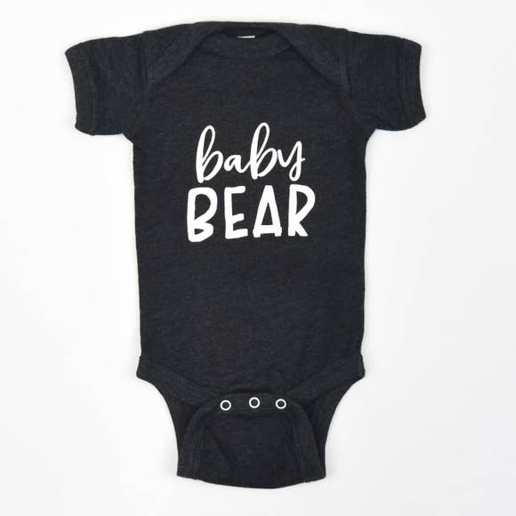 Baby Bear Onesie Bodysuits Frank Regards - Oma's Classic Children's Clothing