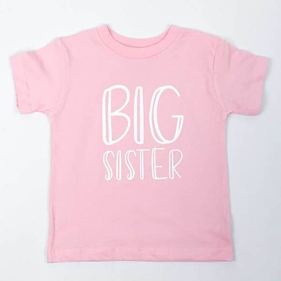 Big Sister Toddler Tee Shirt Frank Regards - Oma's Classic Children's Clothing