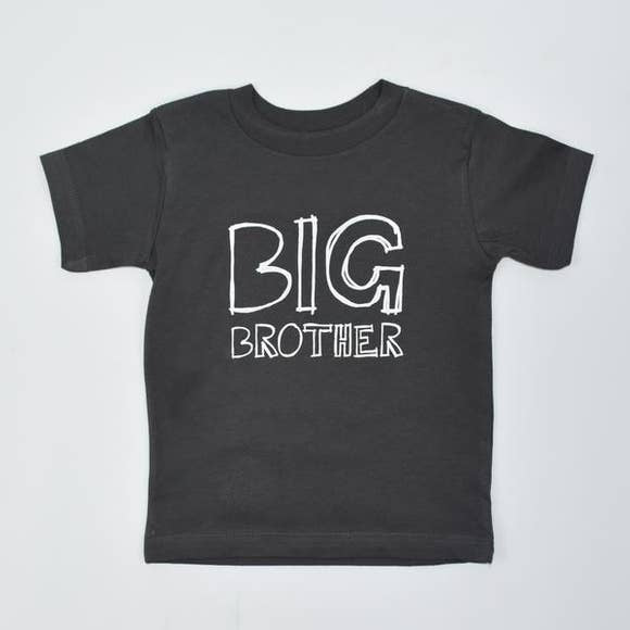 Big Brother Toddler Tee Shirt Frank Regards - Oma's Classic Children's Clothing