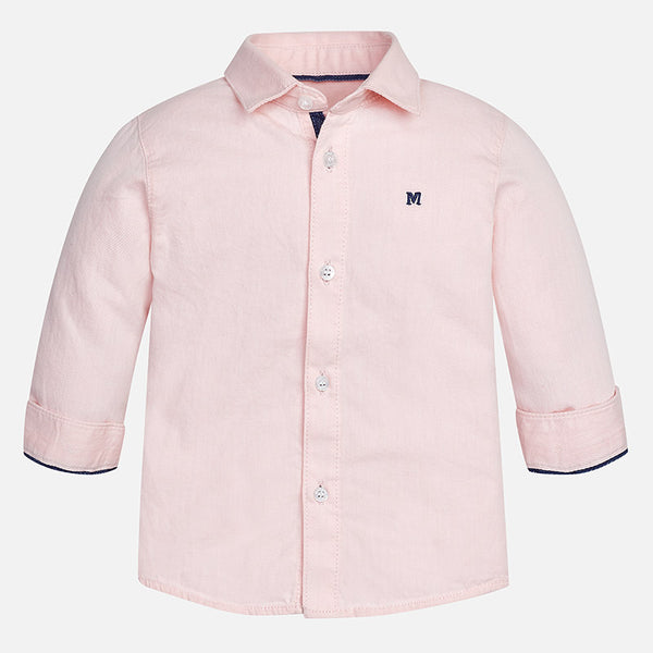 Basic Long Sleeve Shirt Shirt Mayoral - Oma's Classic Children's Clothing