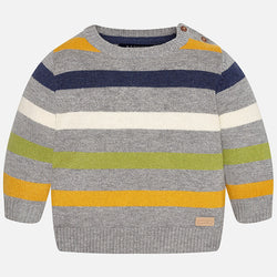 Striped Jersey Sweater