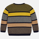 Block Striped Sweater Outerwear Mayoral - Oma's Classic Children's Clothing