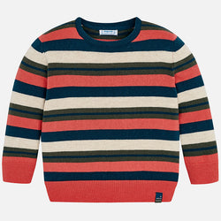 Essential Striped Sweater Outerwear Mayoral - Oma's Classic Children's Clothing