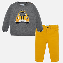 Taxi Cab Sweater Set