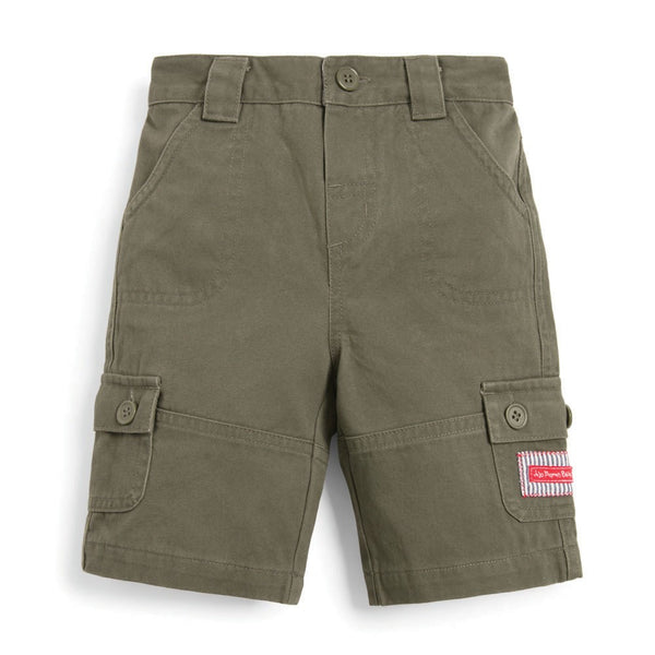 Kids' Essential Twill Shorts Shorts JoJo Maman BeBe - Oma's Classic Children's Clothing