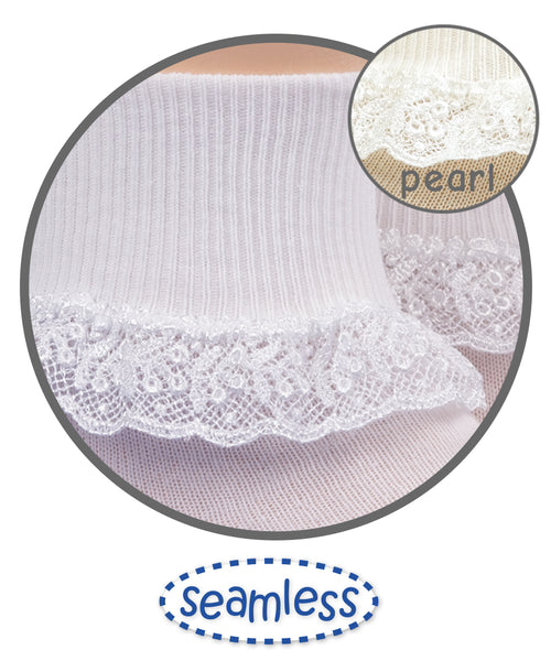 Chantilly Lace Socks Socks Jefferies Socks - Oma's Classic Children's Clothing