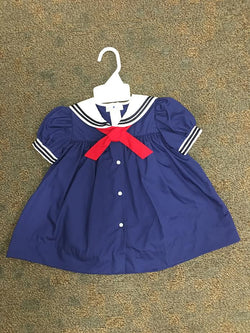 Sailor Suit Dress Dress Renzo - Oma's Classic Children's Clothing