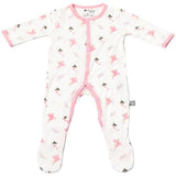 Bamboo Printed Footie Sleepwear Kyte Baby - Oma's Classic Children's Clothing