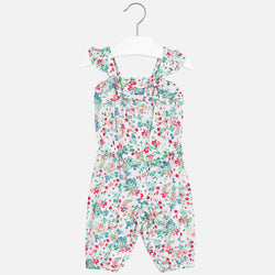 Floral Print Jumpsuit Romper Mayoral - Oma's Classic Children's Clothing