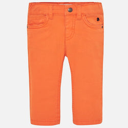Slim Fit Serge Trousers for Baby Boy