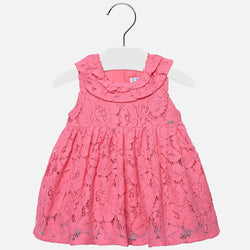 Flared lace Dress for Baby Girl Dress Mayoral - Oma's Classic Children's Clothing