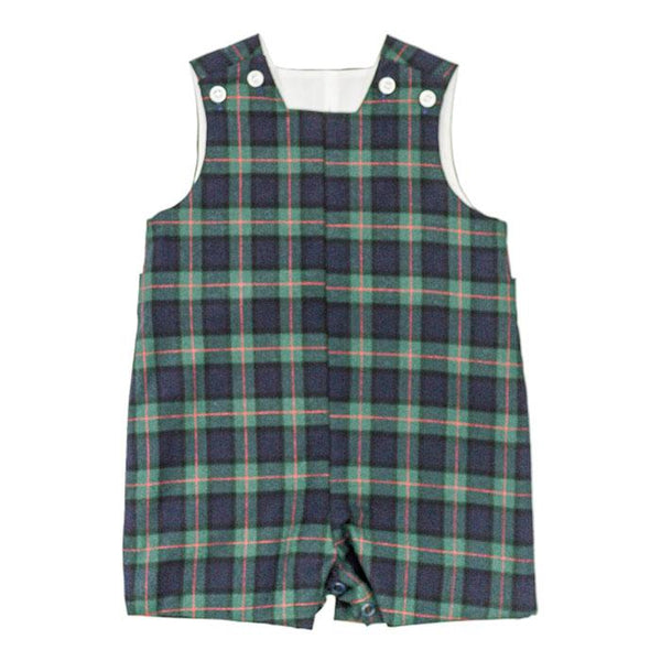 McNeill Plaid Boys John John Short with Tabs