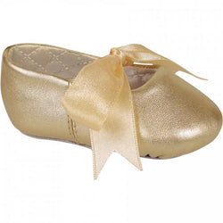 Lambskin Ballet Shoe with Ribbon Tie
