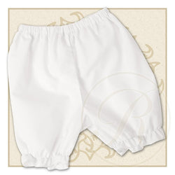 Plain White Bloomers Bloomers Rosalina - Oma's Classic Children's Clothing
