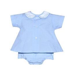 Blue Miles Diaper Set Baby Set Remember Nguyen - Oma's Classic Children's Clothing