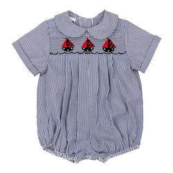 Sailboats at Sea Collection-Dressy Bubble Short