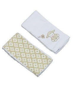 Lillie the Lamb Double Burp Gift Set Bibs & Burps Maison Chic - Oma's Classic Children's Clothing