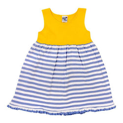 Summer Dresses-Yellow and Blue