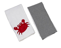 Skipper the Crab Double Burp Cloth Gift Set Bibs & Burps Maison Chic - Oma's Classic Children's Clothing