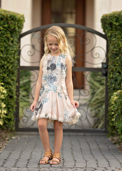 Alice Drop Waist Dress Dress Isobella and Chloe - Oma's Classic Children's Clothing