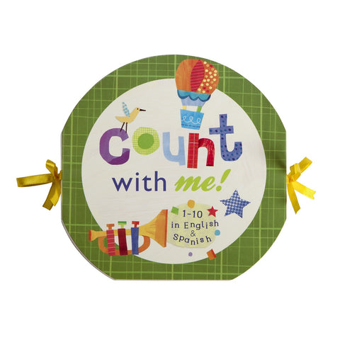Accordian Board Book - Count With Me Toys & Gifts C. R. Gibson - Oma's Classic Children's Clothing