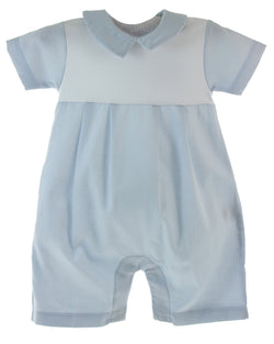 Elegant Baby Short Playsuit Bodysuits Tigel's - Oma's Classic Children's Clothing
