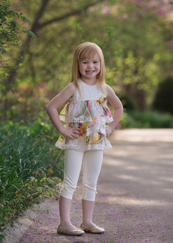 Butterfly Breeze Legging Set Girl Sets Isobella and Chloe - Oma's Classic Children's Clothing