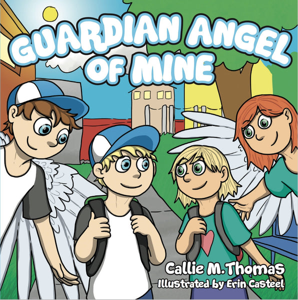 """Guardian Angel Of Mine"" Hardback Book Toys & Gifts Oma's Classic Children's Clothing - Oma's Classic Children's Clothing"