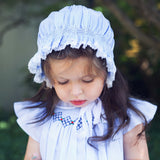 Argyle Smocked Fly Sleeve Dress Dress Feltman Brothers - Oma's Classic Children's Clothing