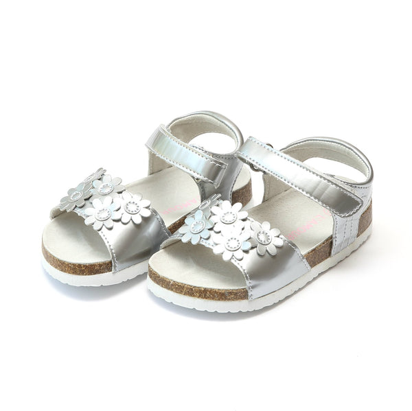 Adelyn Cork Bed Sandal Shoes L'Amour - Oma's Classic Children's Clothing