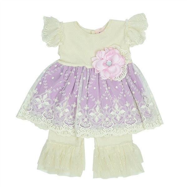 April Dawn Swing Set Girl Sets Haute Baby - Oma's Classic Children's Clothing