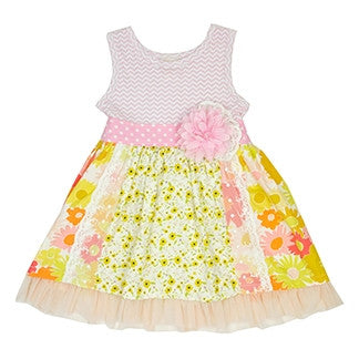 Anna Elise Twirly Dress Dress Haute Baby - Oma's Classic Children's Clothing