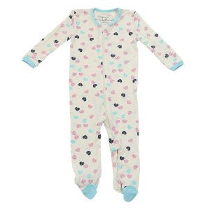 Bamboo Footie with Easy Dressing Zipper Sleepwear Silkberry Baby - Oma's Classic Children's Clothing