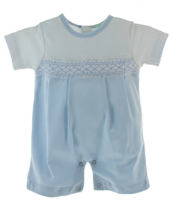 Smock Classic Short Playsuit Bodysuits Tigel's - Oma's Classic Children's Clothing
