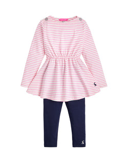 Iona Jersey Dress and Legging Girl Sets Joules - Oma's Classic Children's Clothing