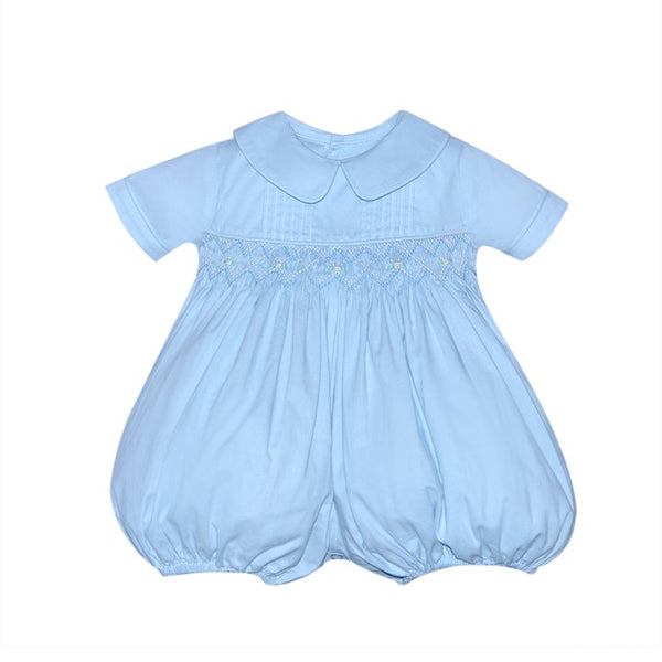 Blue Rustin Bubble Bubble Remember Nguyen - Oma's Classic Children's Clothing