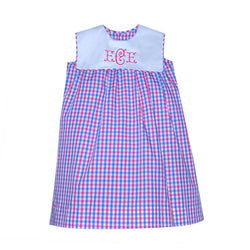 Pink Plaid Shannon Float Dress
