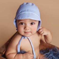 Boys Bonnet Bonnet Huggalugs - Oma's Classic Children's Clothing
