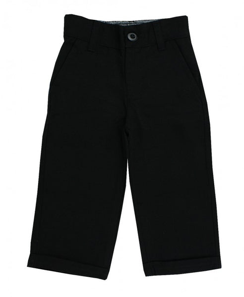 Black Dress Pants Pants Rugged Butts - Oma's Classic Children's Clothing