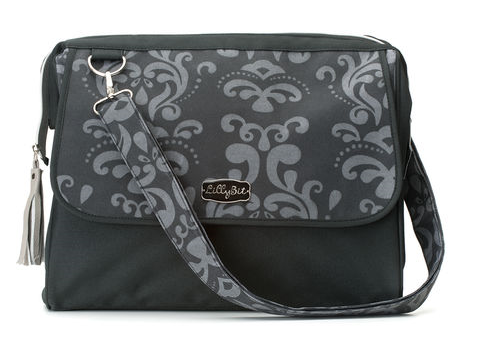 Damask Diaper Bag Bags Demdaco - Oma's Classic Children's Clothing