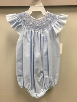 Ava Angel Wing Bishop Bubble Bubble Petit Bebe - Oma's Classic Children's Clothing