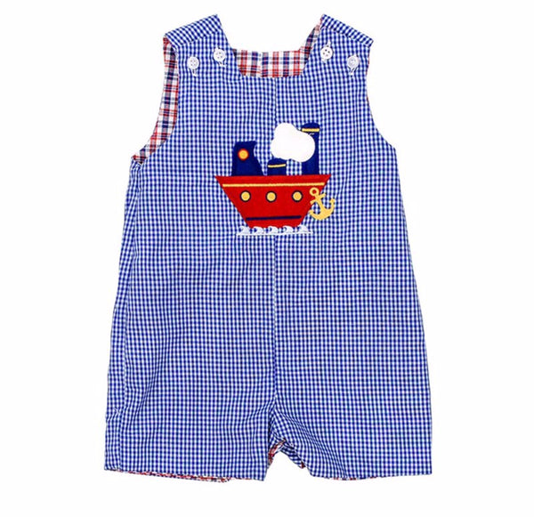 Baseball Trio Reversible Jon Jon Shortall Bailey Boys - Oma's Classic Children's Clothing