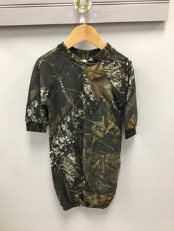 Camo Mossy Oak Sack Gown Bonnie's Sportswear - Oma's Classic Children's Clothing