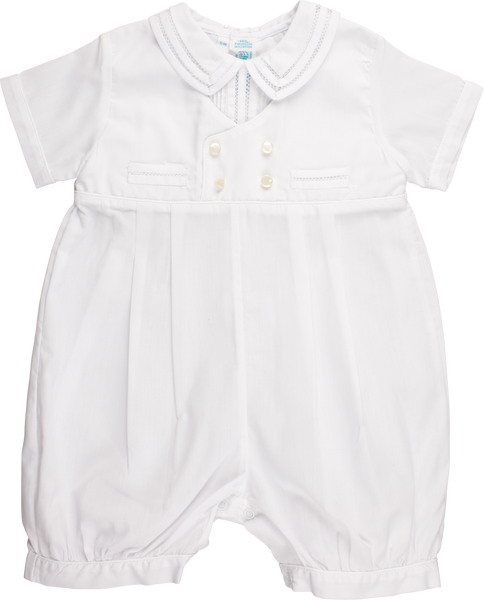 Boys White Shortall Tuxedo Collection Shortall Feltman Brothers - Oma's Classic Children's Clothing