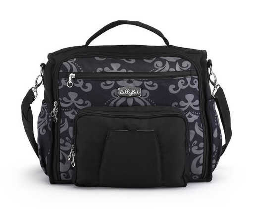 Damask Messenger~Backpack Diaper Bag Bags Demdaco - Oma's Classic Children's Clothing