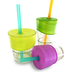 Silicone Universal Straw Tops